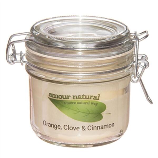 Amour Orange, Clove and Cinnamon candle