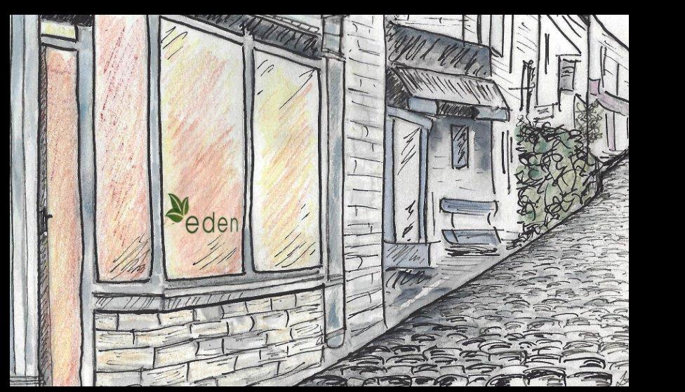 Eden in Haworth drawing